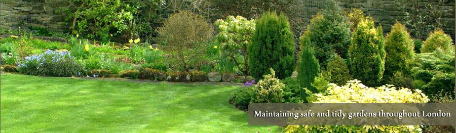 mobile garden maintenance throughout London